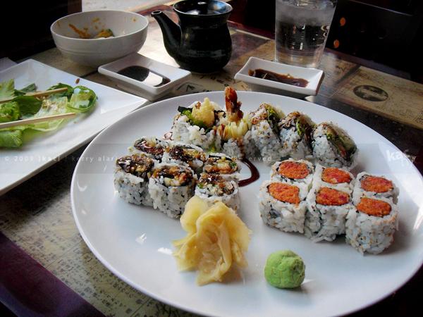 Sushi Suki roll platter