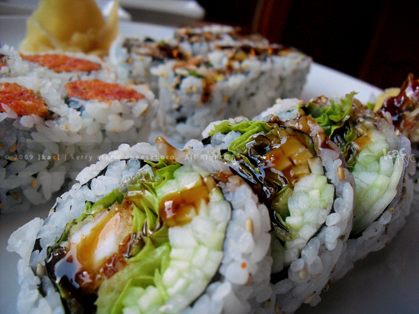 Sushi Suki shrimp tempura roll