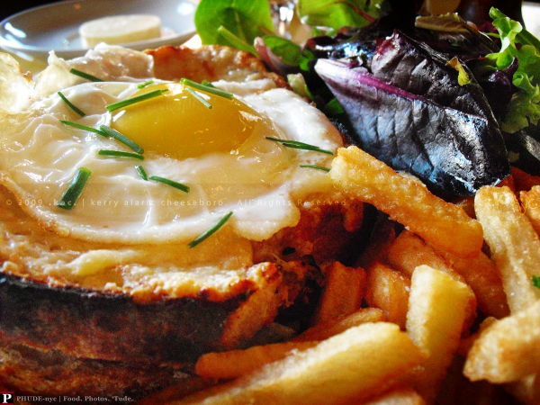 Cafe D'Alsace Croque Madame