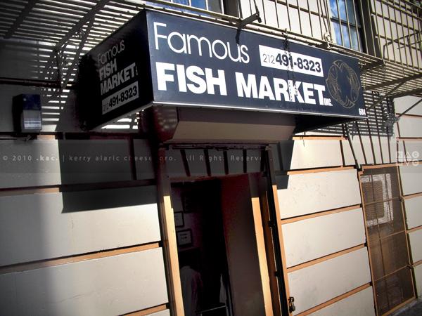 Famous Fish Market Front