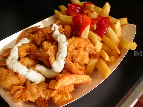 Famous Fish Market Shrimp and Chips