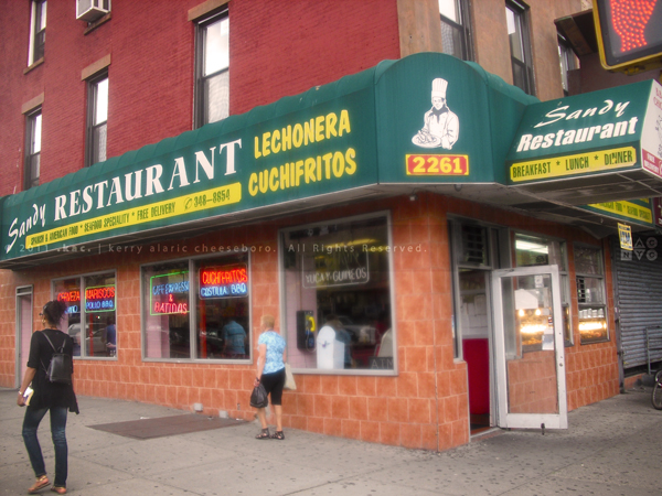 Sandy Restaurant, East Harlem