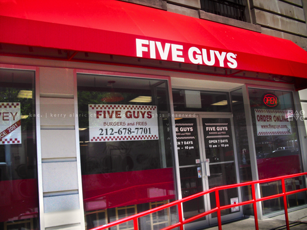 5 Guys Burgers & Fries