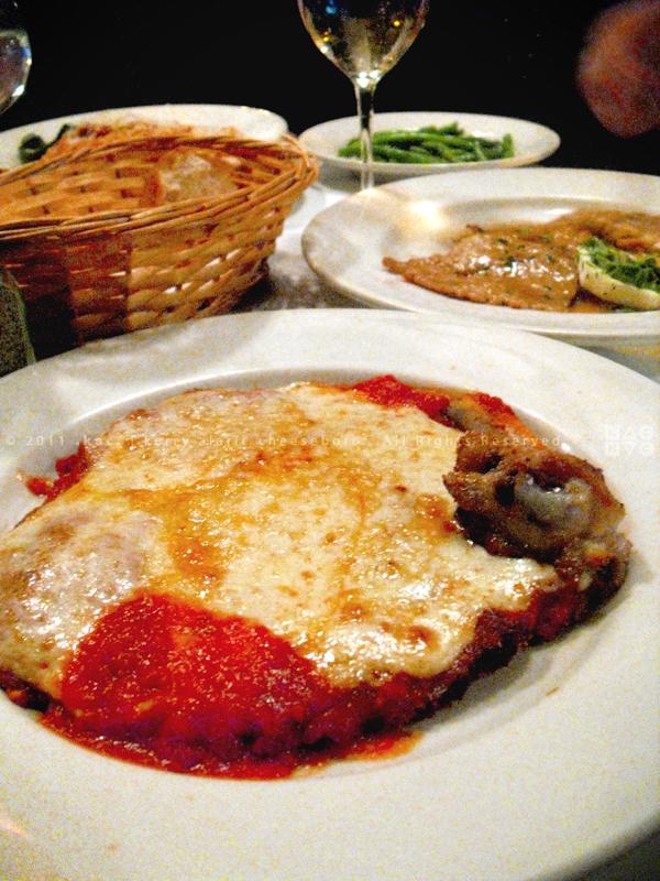 Elio's Dinner