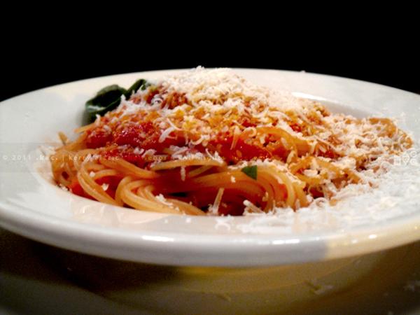Elio's Spaghetti Pomodoro