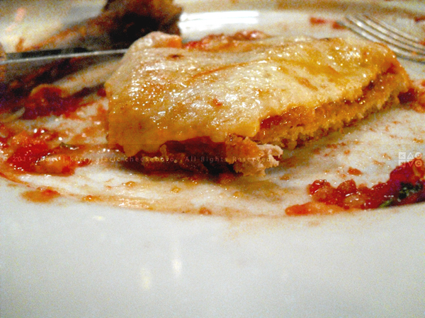 Elio's Veal Parmesan
