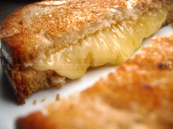 Grilled Swiss & Edam Grilled Cheese