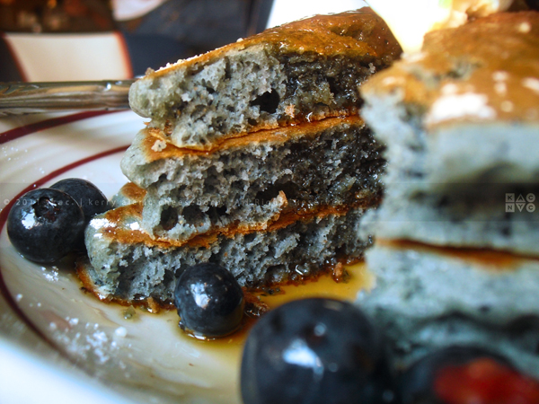 Coppelia, Blue Corn Pancakes