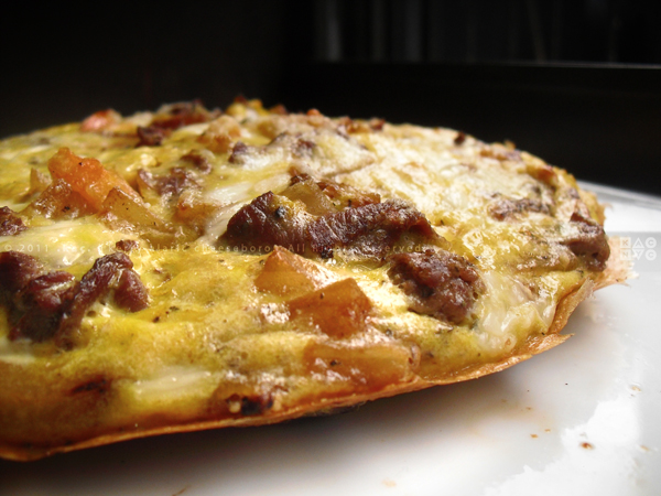 Roast Beef, Potato, Fontina Cheese Frittata