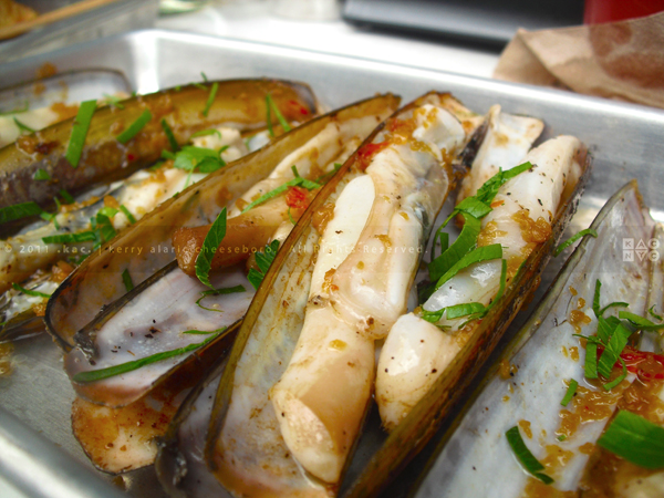 Razor Clams, Cantina by Cascabel