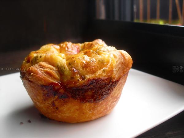 Mini Puff Pastry Quiche