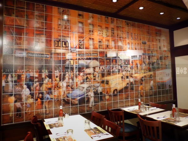 2nd Avenue Deli wall mural