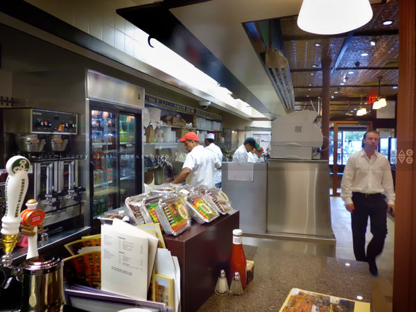 2nd Avenue Deli kitchen