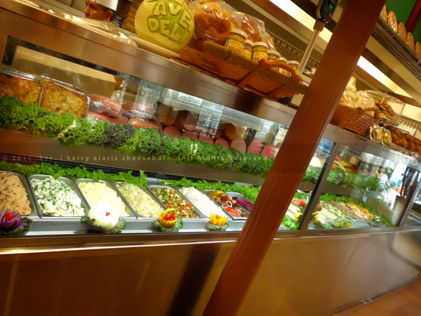 2nd Avenue Deli display counter