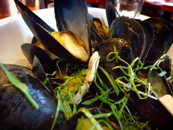 Mussels Muniére | The Seafood Tavern