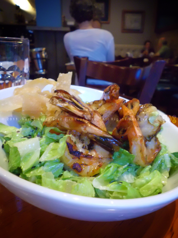 Grilled Shrimp Salad | The Seafood Tavern