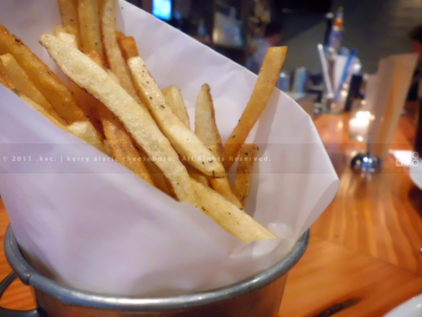 Tavern Fries | The Seafood Tavern