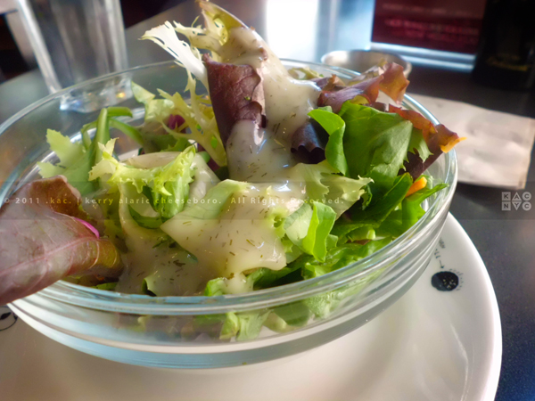House Salad, Veselka