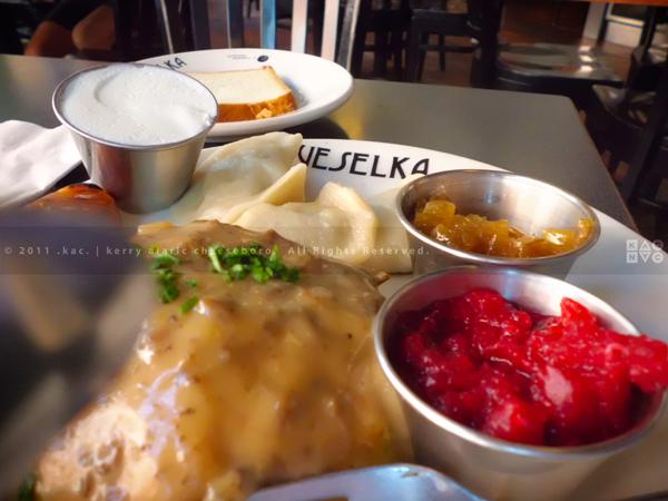 Deluxe Meat Plate | Veselka