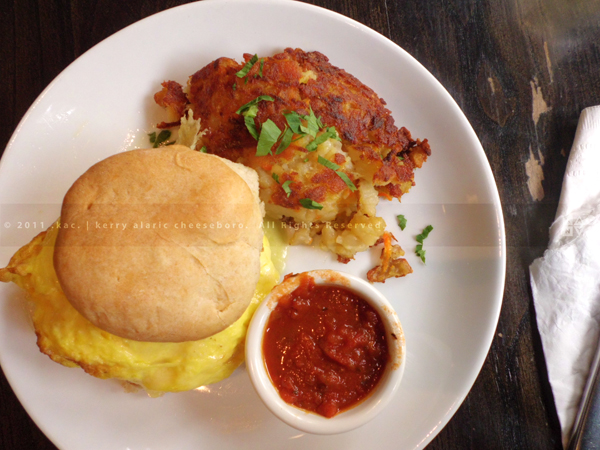 Biscuit Sandwich | Community Food & Juice