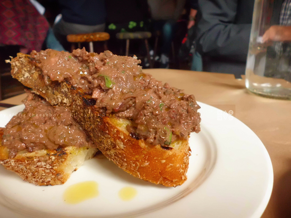 Chicken Liver Toast | The Spotted Pig