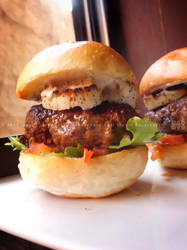 KAC Surf & Turf Burgers