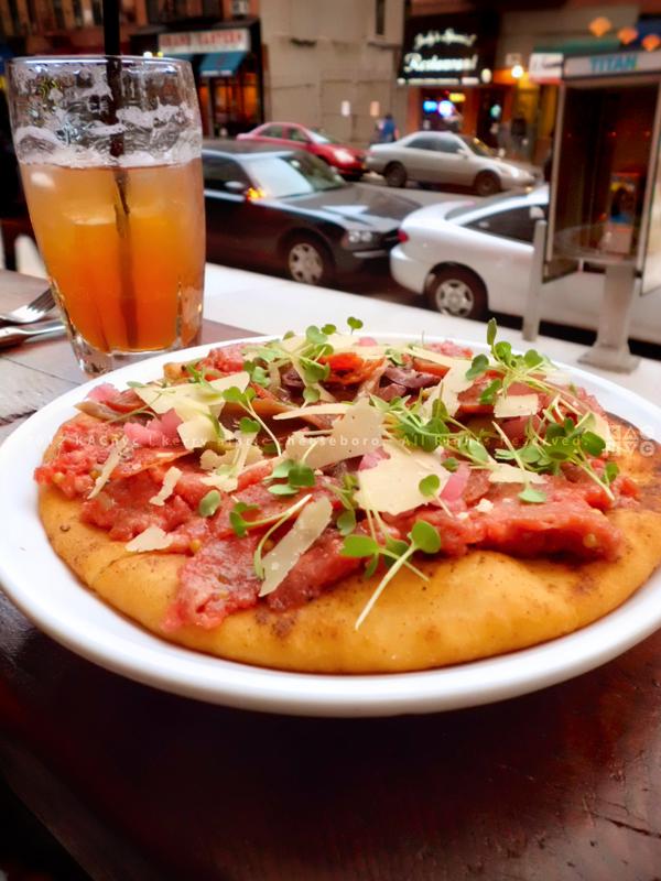 Tartare Pizza