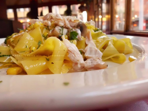 Pappardelle with Pulled Roast Chicken