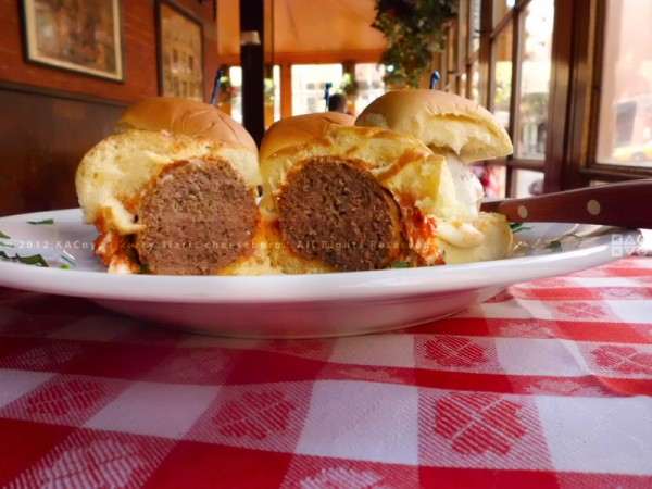 Meatball Parm Sliders