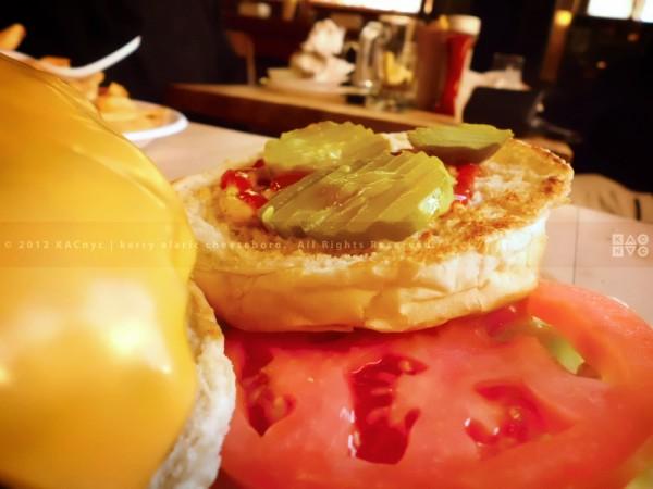 Corner Bistro Cheeseburger
