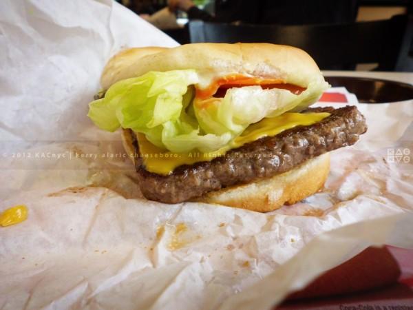 Wendy's Cheeseburger