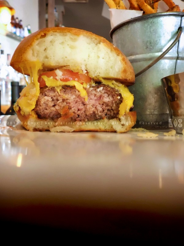 Yorkville Burger at The Seahorse Tavern