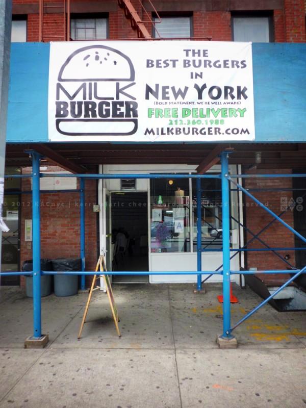 Milk Burger