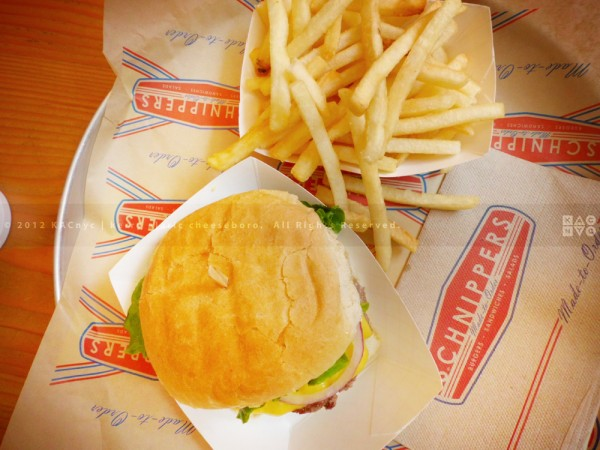 Cheeseburger & Fries | Schnipper's Quality Kitchen
