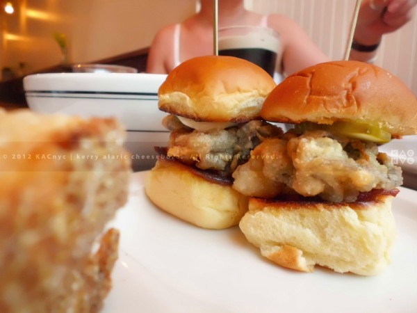 Fried Oyster Sliders