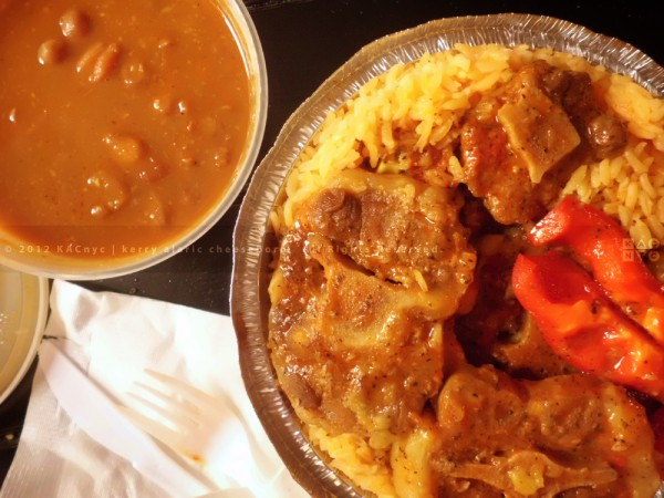 Oxtail Stew with Rice & Beans