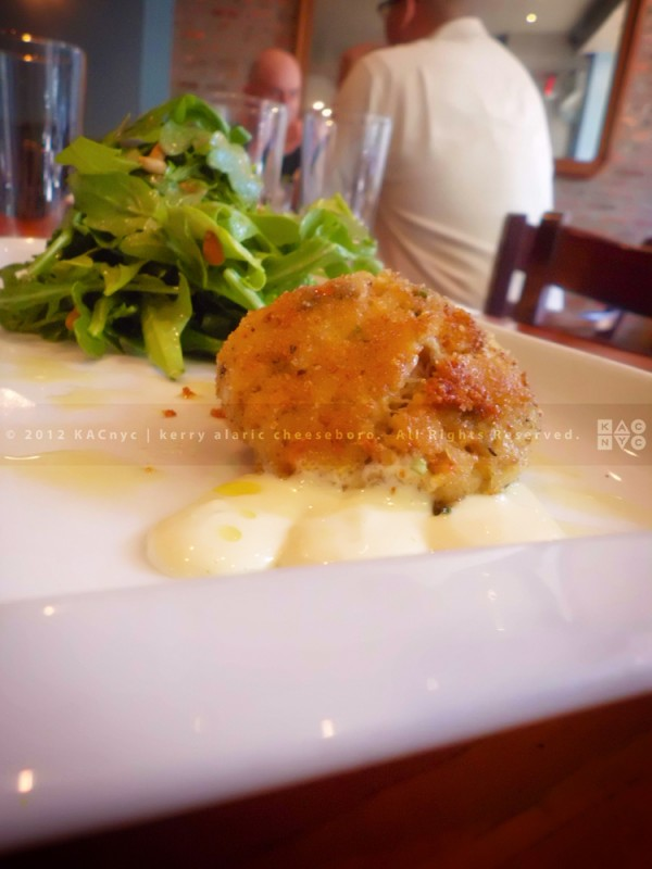 The Seahorse Tavern Crab Cakes