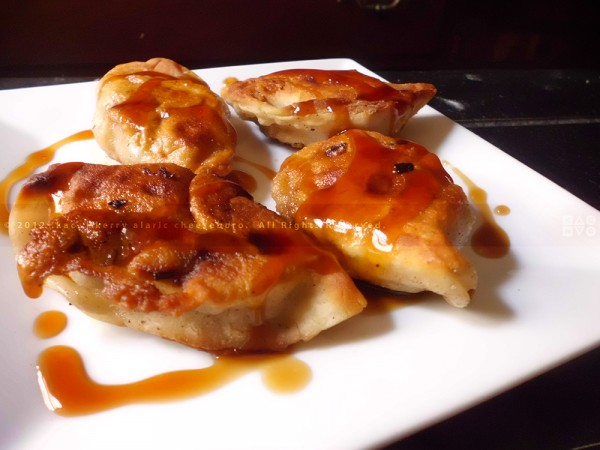 Home-Fried Pork & Scallion Dumplings