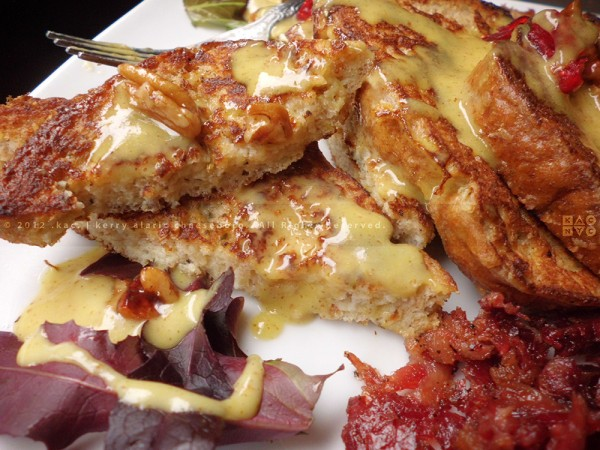 Savory Herb-Battered French Toast