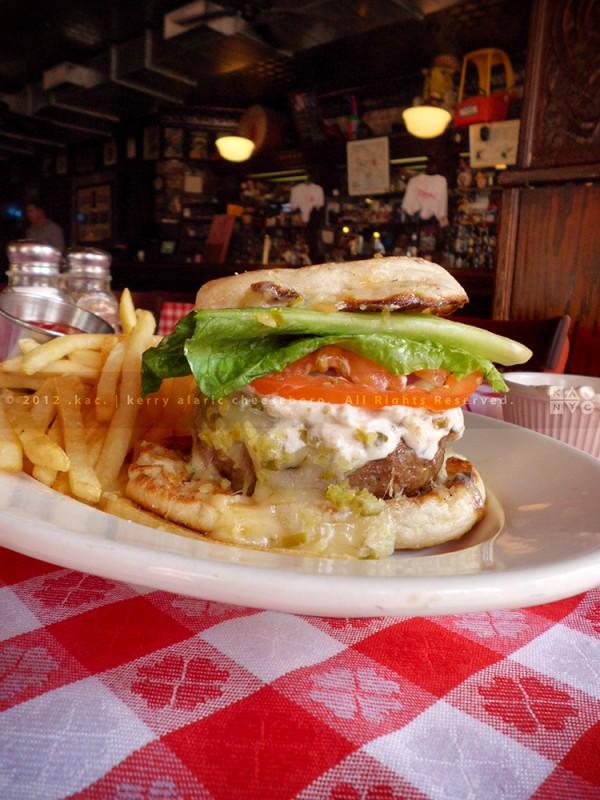 Dorrian's Ragin' Cajun Burger