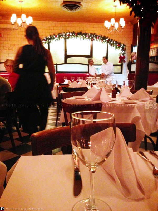 Minetta Tavern | Back Room