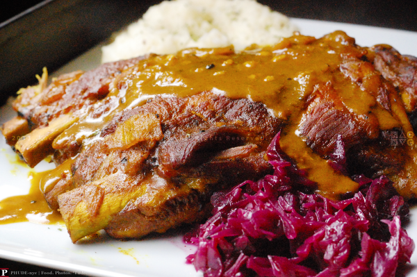 Curry·Ginger Spareribs