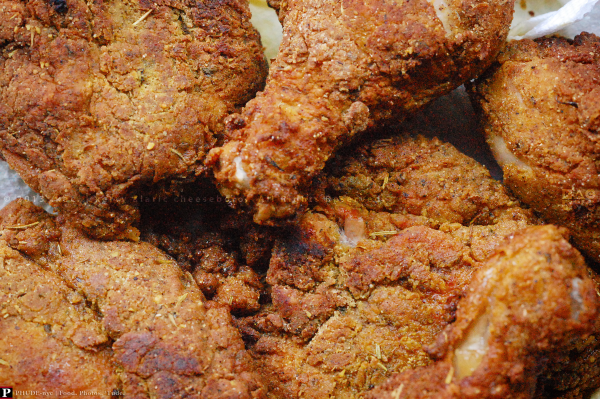 """Double Trouble"" Fried Chicken"