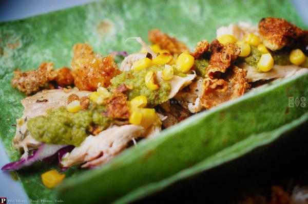Taco Verde con Pollo