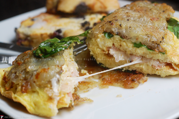 Hash-Brown Wrapped Omelet