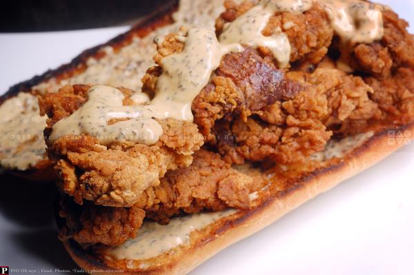 Chicken-Fried Chicken Sandwich