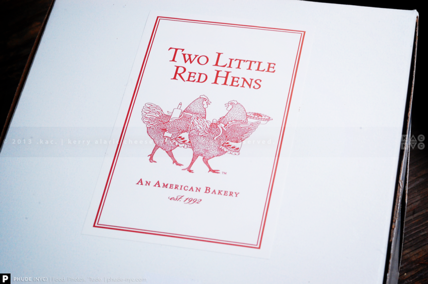 Two Little Red Hens Takeout Box