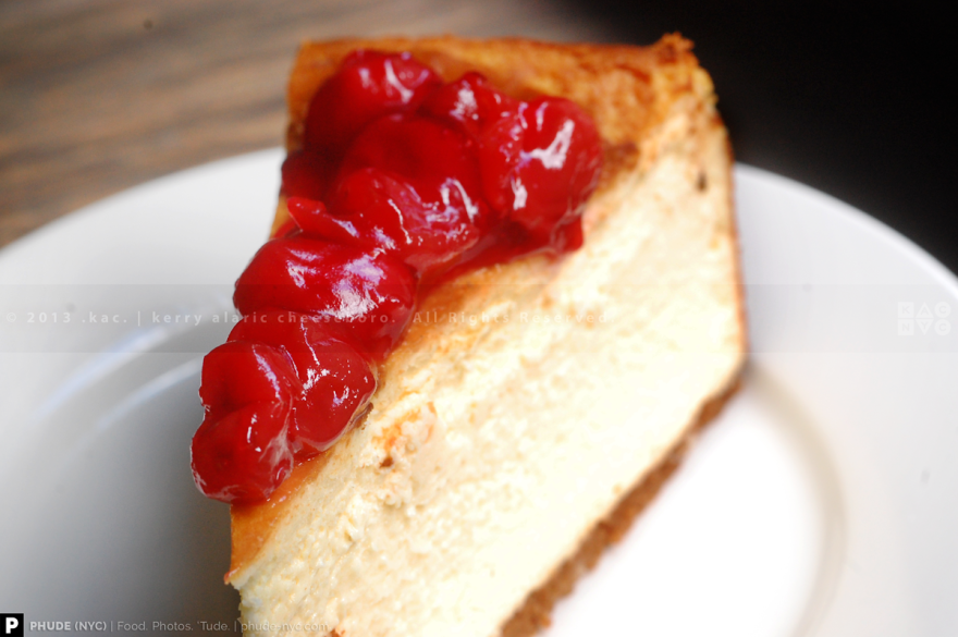 Cherry Cheesecake | Two Little Red Hens
