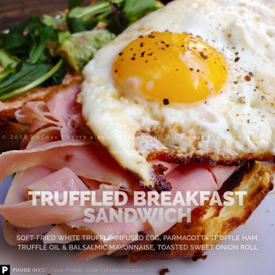Truffled Breakfast Sandwich