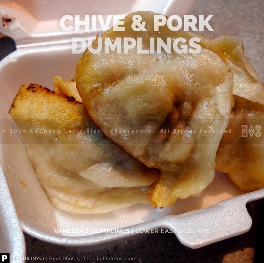 Chive & Pork Dumplings